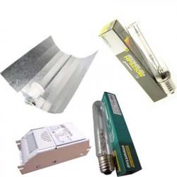 Kit Lumière HPS 250W 1er PRIX - Ballast Magnétique ETI HPS/MH