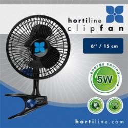 Ventilateur à Pince / Clip Fan - Hortiline 5 Watt - diam. 15 cm - 100
