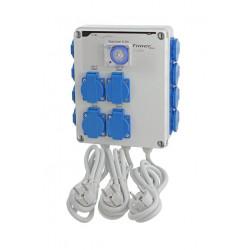 Relais électrique - GSE - 12 x lampes 600 W + Timer intégré+ Chauffag