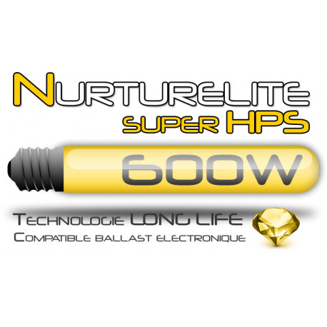 "Ampoule 600 W Nurturelite™ ""super HPS"""