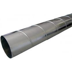 Tube Spiro Galvanizé diam 400 mm  Tube 3 mètres