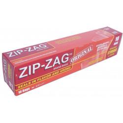 10 - ZIP ZAG BAG 27 cm * 28 cm