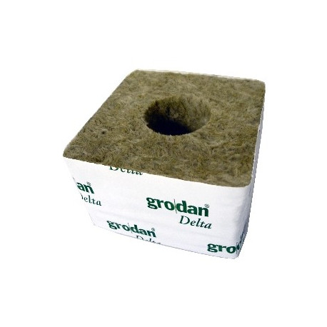 Cube LDR 10 x 10 x 6,5 cm Trou diam. 4 cm