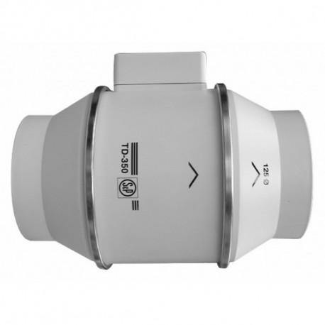 Extracteur Axial S&P TD-350 diam. 125 mm 350 m3/h