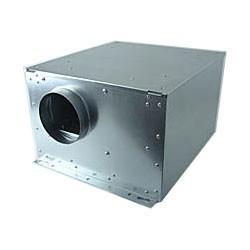 Box Acier Insorisée RUCK  ISOTX125 diam. 125 - 360 m3/h 380x380xH/232 cm