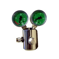 Détendeur CO2 avec Manomètre pour bouteille Rechargeable