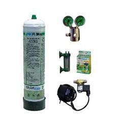 kit CO2 Complet avec Manomètre + Bouteille gaz jetable JBL 500 g