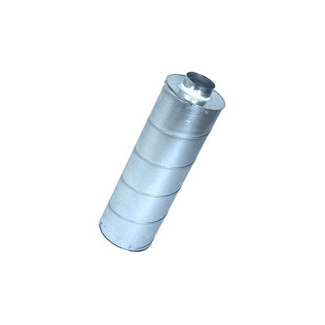 Silencieux  diam. 100 mm - L 30 cm