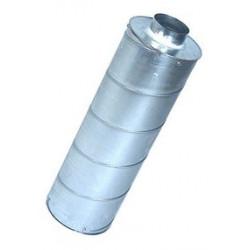 Silencieux diam. 100 mm - L 60 cm