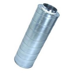 Silencieux diam. 125 mm - L 60 cm