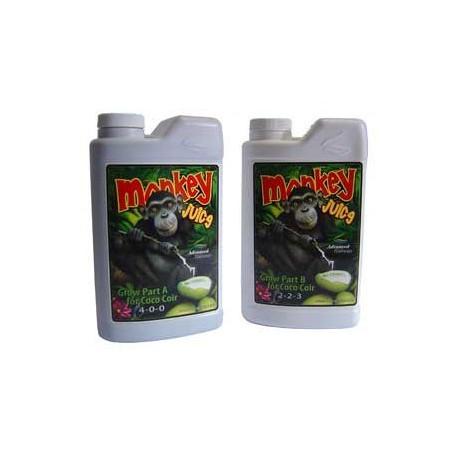 Advanced Nutrient Monkey Juice Coco Grow A+ B 1 L