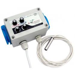 Controlleur Vitesse GSE - Thermo / Hygro / Pression - 2 x 600 W